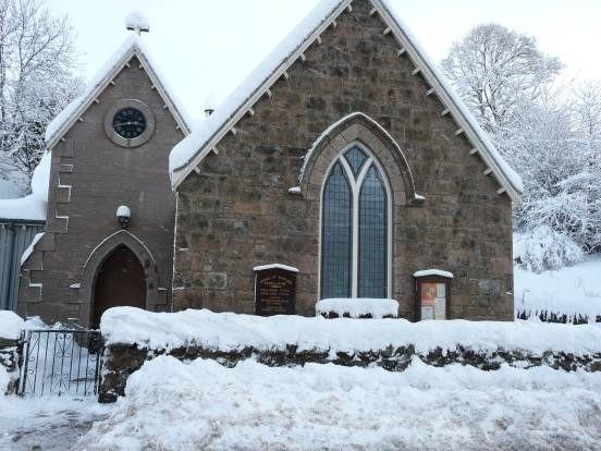 Craig Church in Snow